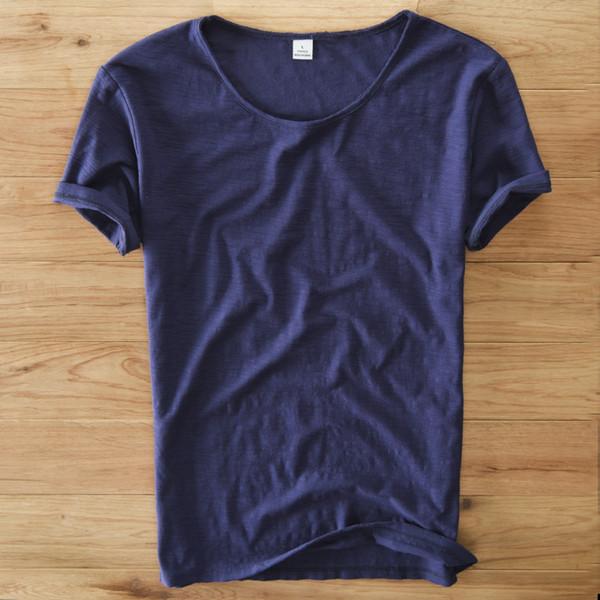 로얄 블루 T 셔츠