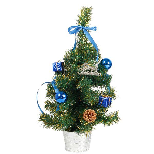 Creative 45CM Altezza Tavolo Top Albero di Natale Xmas Party Ufficio appeso Decorazione Ornamenti 3 colori