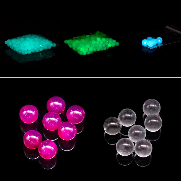 best selling Luminous Glowing Quartz Terp Pearl Ball OD 6mm 8mm small quartz Pearls for Quartz Banger Nail Oil Dab Rigs Bong
