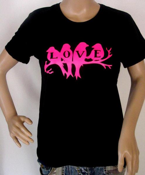 suche nach dem besten großer Diskontverkauf erstklassiges echtes T Shirt Love Peace Tauben Neon Pink Groe S M L XL XXL Auch Damen Girli NEU  Offensive Shirts Ringer T Shirts From Zhangjingxin31, $15.53  DHgate.Com