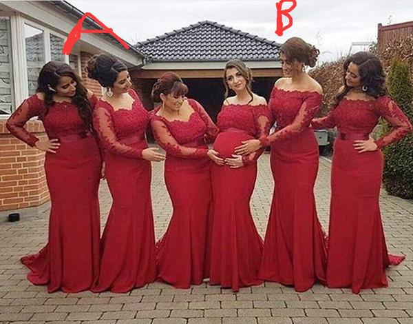 4229be241 Vestidos rojos largos para embarazadas - Vestidos baratos