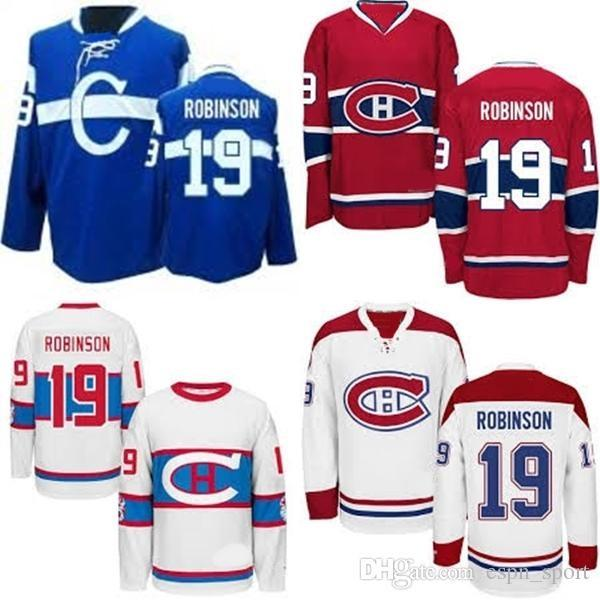 best service cf83a 00060 2019 Hot Sale Cheap Montreal Canadiens 19 Larry Robinson Blue Red White  Best Quality 100% Embroidery Logo Ice Hockey Jerseys Accept From  Espn_sport, ...