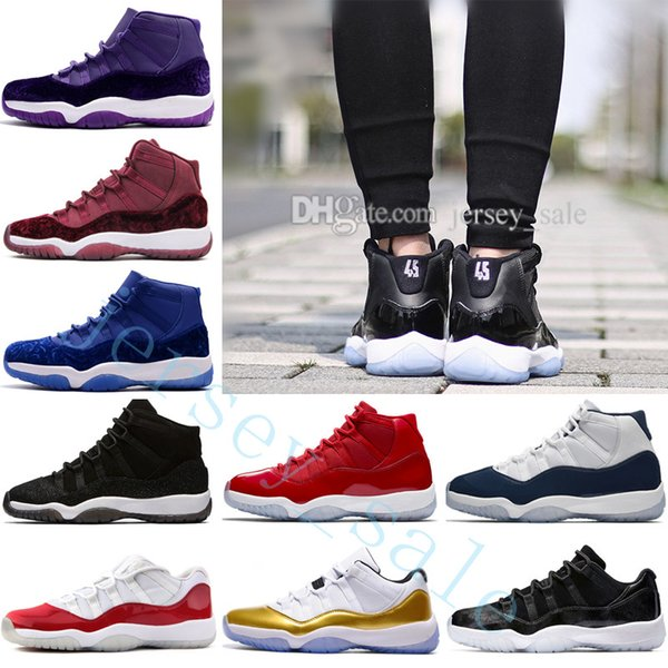 2018 High Quality 11 XI Gym Red Chicago WIN LIKE 96 Men Basketball Shoes 11s 378037-62 Mens Sneakers Sports Trainers designer Outdoor shoes