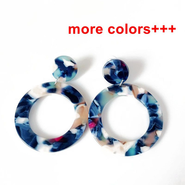 best selling Free Shipping New Sweet Round Mixed Color Elegant Trendy Earring, Cute Stud Earring For Women