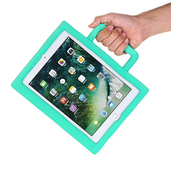 Kids Safe EVA Case Foam For iPad new 2017 mini 234 2 3 4 Air 5 6 Pro 3D Cartoon innoxious Children Kids Shockproof Protection Stand