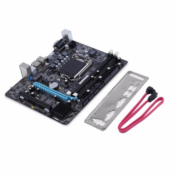 Motherboards LGA 1156 Motherboard CPU-Schnittstelle Intel P55 6-Kanal-PC-Mainboard Hochleistungs-Desktop-Computer Mainboard LGA 1156