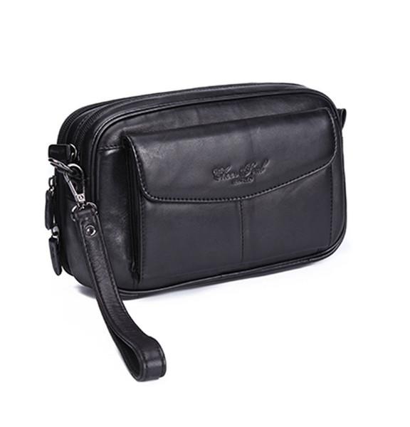 Erkek Vintage Moda Iş Debriyaj Bilek Paketi Lüks El Çantası Cüzdan Telefonu çanta Çanta Cep Cep Telefonu Kılıfı Tutucu