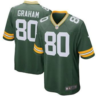 new product 7e358 1af39 2019 Aaron Rodgers Jersey Packers Green Bay Clay Matthews Brett Favre  Custom Soccer Rugby Retro American Football Jerseys Cheap Wholesale Deals  From ...