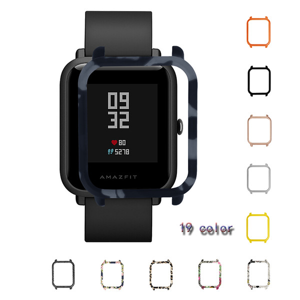 LAOKE Case for Xiaomi Huami Amazfit Bip Bit youth Watch Case Replaced Cover Protective Shell for Amazfit Smart Watch Accessories