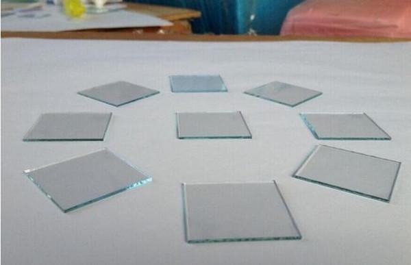 100x100x1.6mm, 15ohm / sq, 12 pçs / lote Laboratório de Fluido Conduzido Transparente Fluoreto de Óxido de Estanho (FTO) Revestido de Vidro