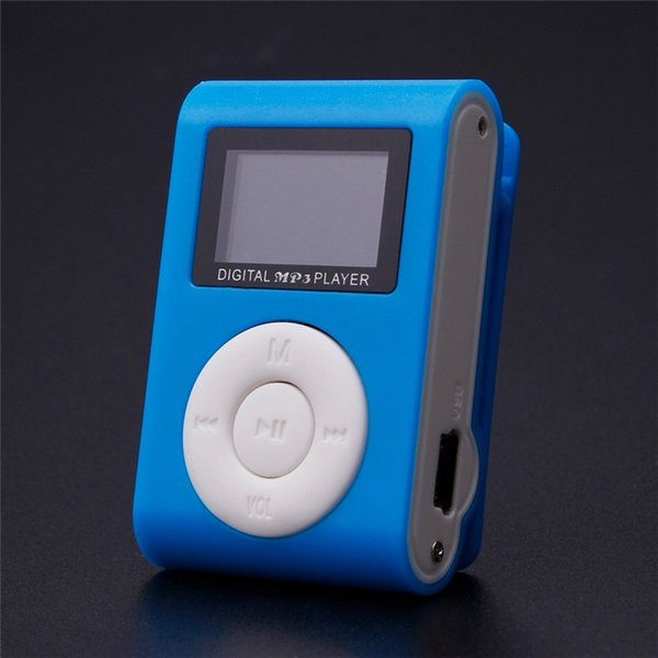 Newest mp3 mp4 Player Portable MP3 Music Player USB Clip Mini LCD Screen Support 32GB Micro SD TF Card