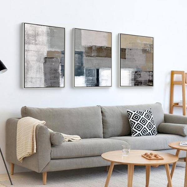 2019 Cuadros Decoracion Abstracta Quadros De Parede Para Quarto Tableau Decoration Murale Salon Modern Wall Pictures For Living Room From