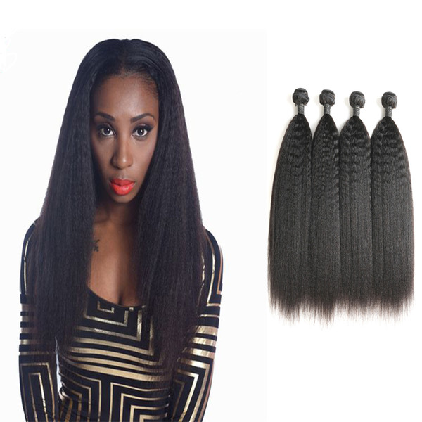 Grade 9A Unprocessed Human Hair Extensions Indian Virign Soft Milk Kinky Straight Curly Wave Hair 4 Bundles
