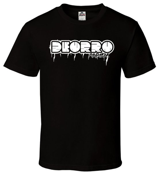 Deorro Pandafunk - Black T-Shirt Logo Fam EDM EDC Rage Plur All Sizes S-2XL Brand Cotton Men Clothing Male Slim Fit T Shirt