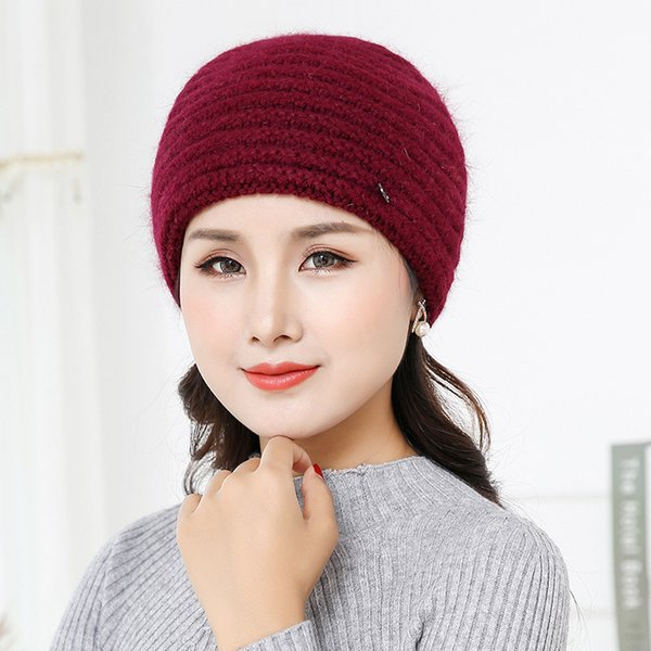 wine red hat 56-58cm