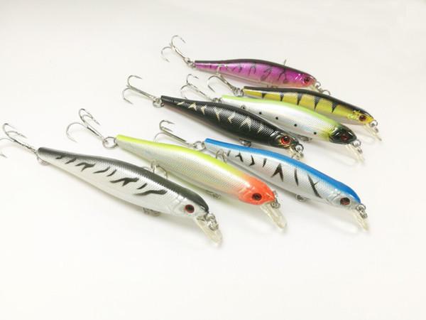 Lot15 FISHING LURES CRANKBAIT HOOKS BAIT 5.6g/8.5cm