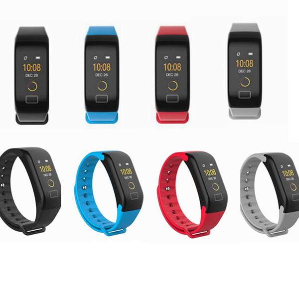 d77f11ca53cc Compre Top Gift Pulsera Inteligente Reloj Plus Relojes Presión Arterial  Blood Oxygen Monitor Podómetro Ritmo Cardíaco Fitness PK Fitbits Reloj Para  ...