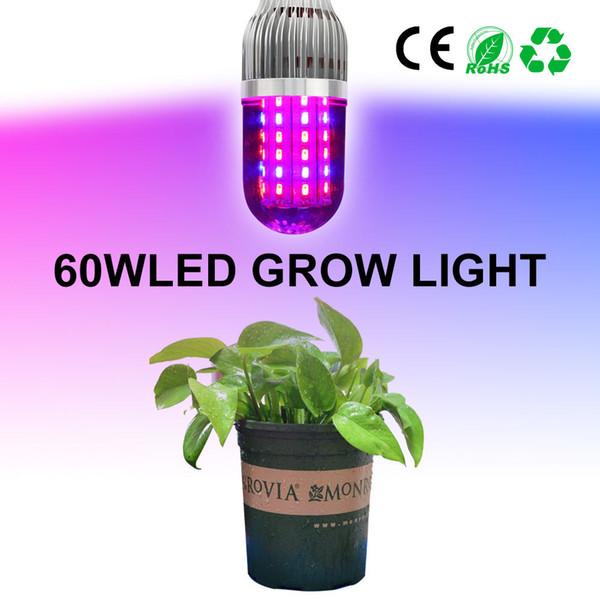 Full Spectrum Grow Lights E27 18w 28w 43w 54w 60w Red Blue Smd