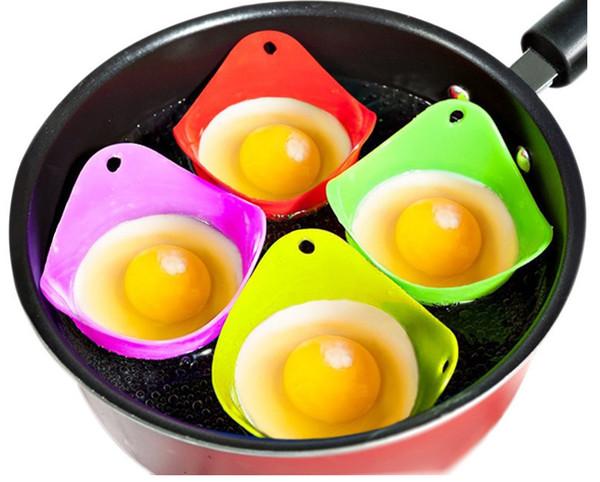 ACI-308 1PCS Silicone Form For Eggs Cooking Tools Poachers Mold Poached Eggcup Egg Boiler Pods Egg Bowl Pancake Gadgets Kit