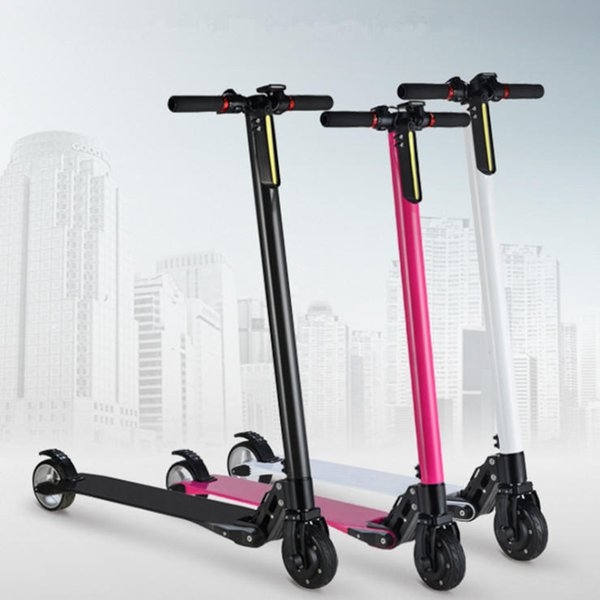 ALFAS 250W Aluminum Alloy Folding Electric Scooter Intelligent Bicycle Bike 20KM Max Speed 12-18KM Life 3 color option