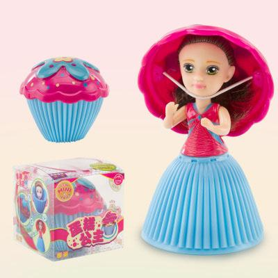 top selling Cupcake Scented Princess Doll Reversible Cake 12 Roles 6 Flavors Magic Toys for Girls oth262