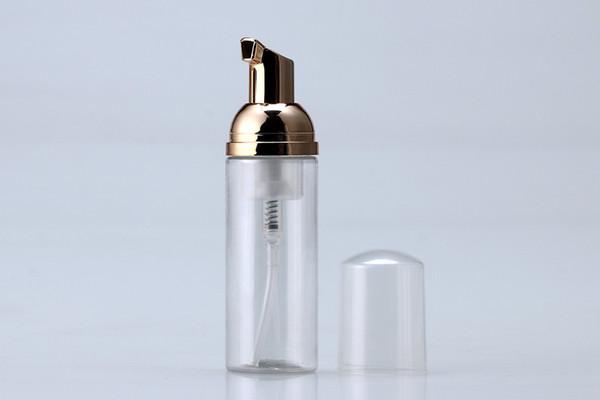 50 ml Plastik Foamer Şişe Pompası beyaz sıvı Sabunluk altın köpürtücü ile en ucuz Köpük şişesi