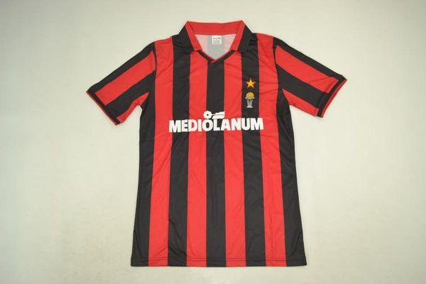 maillot sport 91-92 coupe intercontinentale maillot rétro milan 9 # VAN BASTEN Van Basten