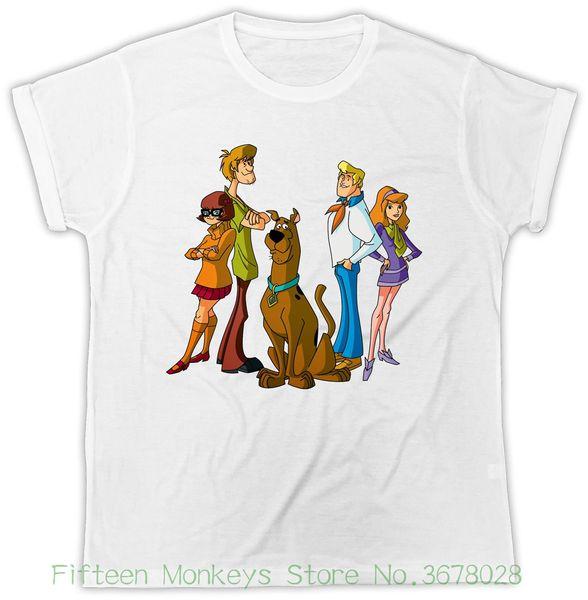 Acquista t shirt da donna t shirt scooby doo cartone animato