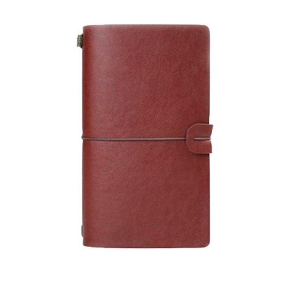 Leather Cover Notebook Vintage Notepads Office Notebook Paper Travel Journals Notebooks Spiral Notepads Daily Memos 72 Sheets A6