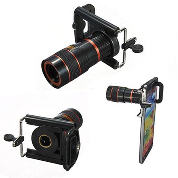 Universal 8X Long Focal Lens Teleskop für Mobile Cell Smart Phone Kamera