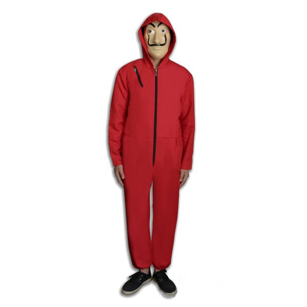 Money Heist The House of Paper jumpsuits without mask La Casa De Papel Cosplay Costume for kids boy girls halloween costumes
