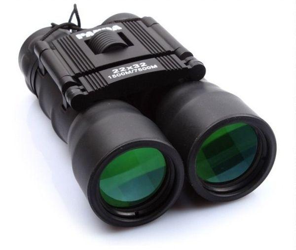 Free freight Hot sale Outdoor binoculars 22x32 binocular high power HDTV night vision blue film telescope LLFA