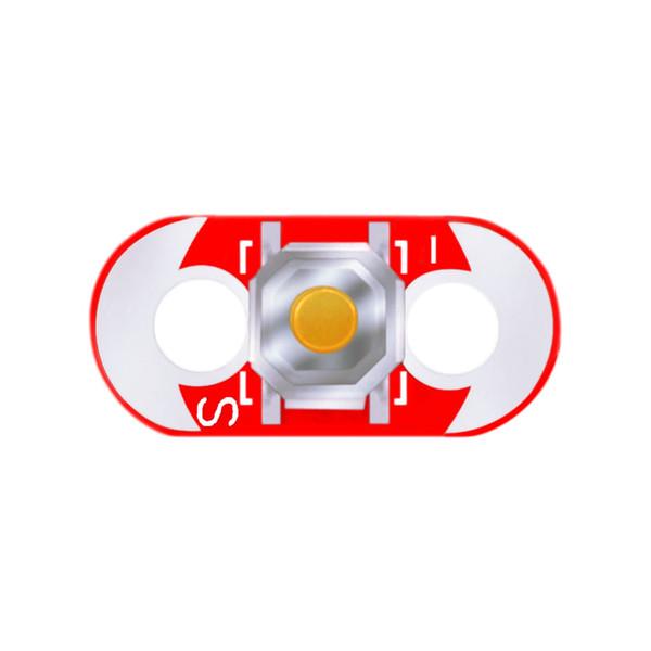 Keyes Wearable Lilypad con módulo de botón (PCB rojo)