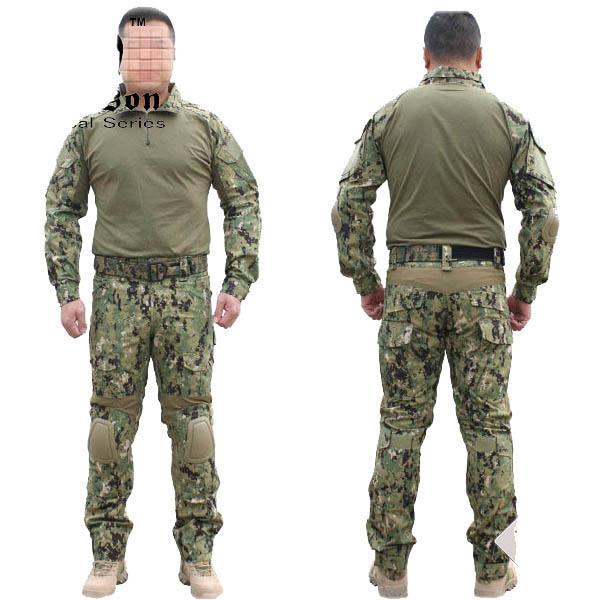 NEUE Emerson Gen2 Combat einheitliche Tactical Gear Shirt und Hosen Armee BDU Set (Marpat Woodland) Kostenloser Versand Gun Party Supplies