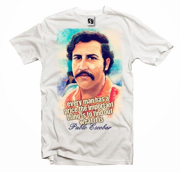 Das T-Shirt der einzigartigen Pablo Escobar Mens (Sb220) kühle beiläufige Stolz-T-Shirt Männer Unisex-neues Art- und Weiset-shirt freies Verschiffen übersteigt Ajax