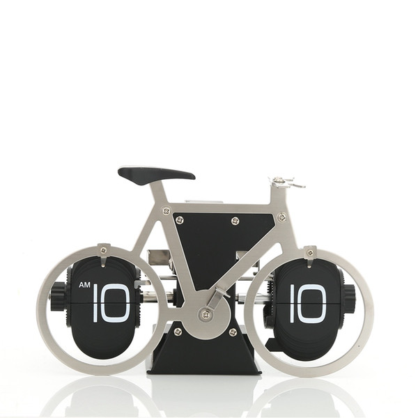 autobots bike stainless steel panels can be hung plastic panel multi-color Sport Shi Ying mechanical flip clock