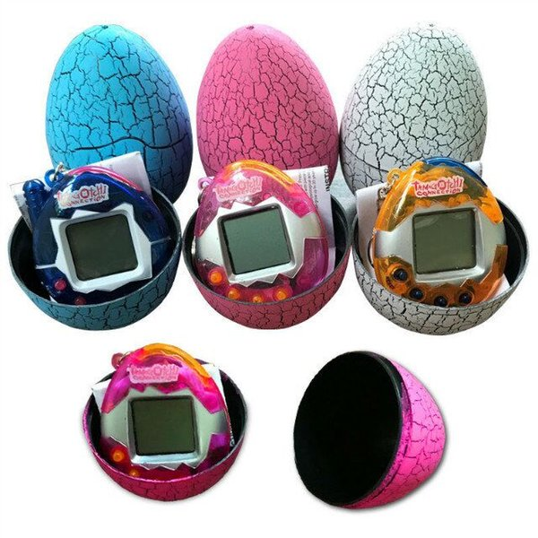 Hot Item Tamagotchi Pet Toys Virtual Pets on a Keychain Digital Pet Electronic Game Cracked Tumbler Eggs Funny Gifts for all Ages