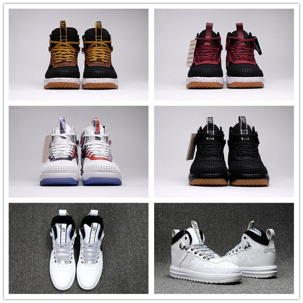 2018 Hot Sale LUNAR 1 DUCKBOOT Lunar 1 Duckboots Duck One KPU Basketball Shoes for Top quality 1s Men Classic Sneakers Size 40-47