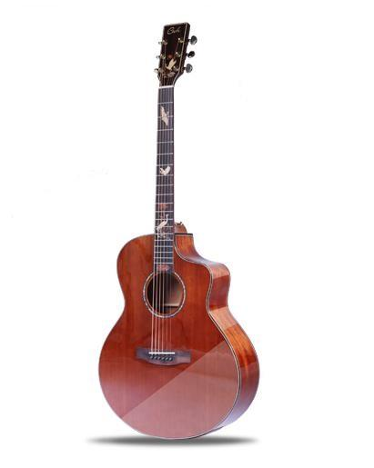2018 Hot Sale 41''Wood Guitar JF custome Cut-away Acoustic Guitar High Quality Sold Africa Mahogany Guitar