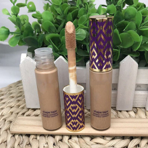24 hour delivery Top qualtiy Shape Tape contour Concealer 5 colors Fair Light Light medium Medium Light sand 10ml liquid foundation