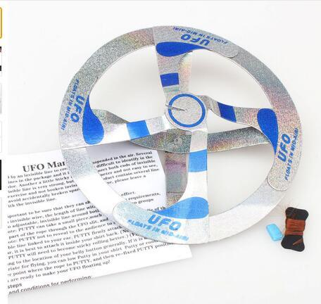 best selling Mystery Mid Air UFO Floating Fly Saucer Magic Toy Magician Trick Props Show Tool Magic Trick Toy For Kids