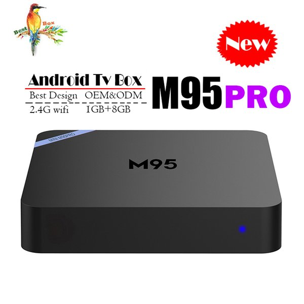 Android TV Box M95 PRO Allwinner H3 1GB 8GB Best Internet TV Box Android 7.1 better than MXQ PRO RK3229 TV Box support 4K H.265 media player