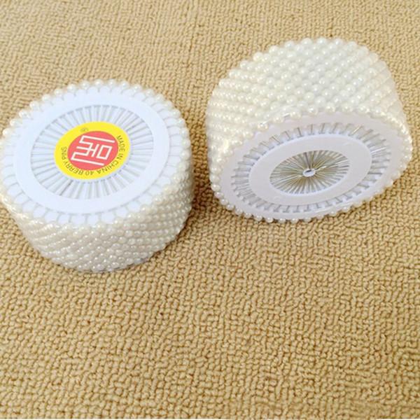 Fashion Decor Round Head Dressmaking Wedding Faux Pearl Sewing Pins Craft Sewing Tool 480pcs/set