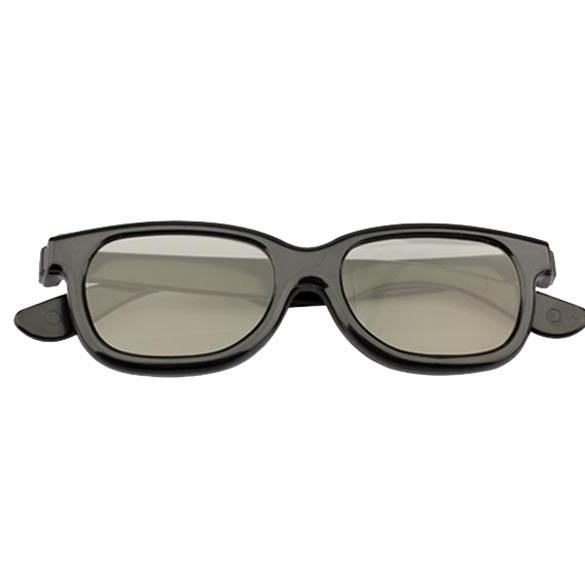 HOT Polarized 3D Glasses Black Movie DVD LCD Video Game Theatre Circular Drop shipping