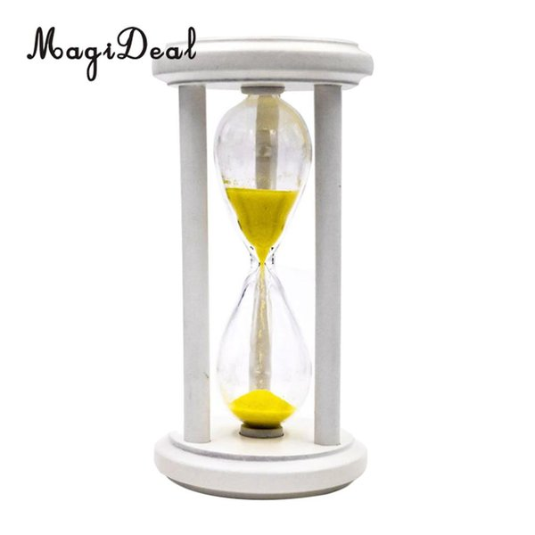 3 Min Hourglass Wooden Sand Timer Clock Kitchen Cooking Kids Learning Toy