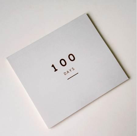 best selling 100 Day Countdown Calendar Daily Planner for 100 Days Learning Schedule Periodic Planner Agenda School Supplies Stationery