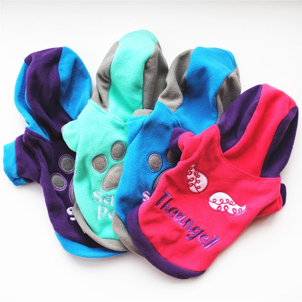 XS/S/M/L/XL Winter Casual Pets Dog Clothes Warm Coat Jacket Clothing For Dogs Cotton Blended