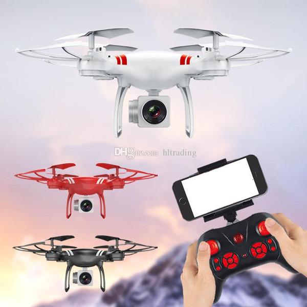 KY101 Quadcopter Aircraft Wifi HD fotografia aerea 4 Axis RC Drone con 500W HD Camera Drone RC Toy C4643