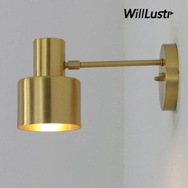 brass wall sconce lamp handmade copper light fixture bedroom restaurant hotel home dinning room bedside office bar modern lighting fitting