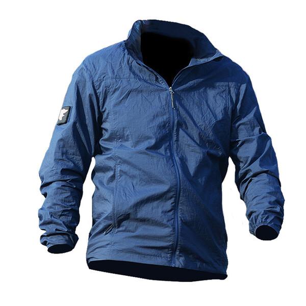 Army  Skin Jackets Tactical Lightweight Waterproof Jacket Men Summer Breathable Thin Hoody Raincoat Portable Windbreaker